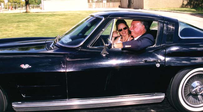Ed, Me & the '64 Corvette
